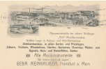 FRANKFURT - 1924 , Firma Für Musikinstrumente - Frankfurt A. Main