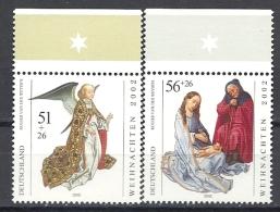 Deutschland / Germany / Allemagne 2002 2285/86 ** Weihnachten - Ongebruikt