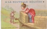 Cromo   A La Nouvelle Heloise L MONTEIX PARIS Elle Vit Venir Son Page - Au Bon Marché