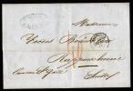 A3504) France Frankreich Brief Von Marseille 13.2.1853 Nach Rapperschwil - 1853-1860 Napoleon III