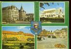 Postcard, Stationery, Code 1973-80, Oradea, Black Eagle Palace, UNION Culture House, Museum, Theatre, Unused , 2 Scans, - Roumanie