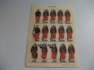 Soldato Uniformi Militari Zouaves IMAGERIE PELLERIN EPINAL - Cartoline