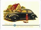 Autres Collections - Magnet - Voiture Volkswagen - Das Auto Für Vater Und Sohn - Coccinelle - Cox - Transport