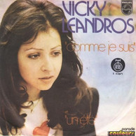"""SP 45 RPM (7) Vicky Leandros  """"  Comme Je Suis  """" - Zonder Classificatie"""