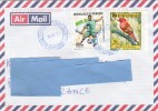 Z3] Enveloppe Cover Burundi Football Soccer Coupe Du Monde Brésil 2014 World Cup Oiseau Bird - Football