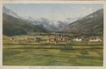 CPSM OULX (Italie-Piémont) - 1063 M ABADIA Sfondo Bardonecchia - Other Cities