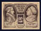 Saarland 1951, FDC - Maximumkarte 308, Johannes Calvin, SST 31.10.51 - Maximumkaarten