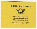 DDR Markenheft MH 1 a 1.1 ** postfrisch