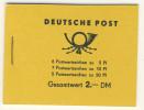 DDR Markenheft MH 1 b 1 ** postfrisch