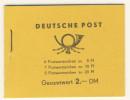 DDR Markenheft MH 2 b 1 ** postfrisch