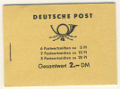 DDR Markenheft MH 3 b 1 ** postfrisch