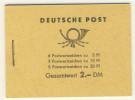 DDR Markenheft MH 3 b 2 ** postfrisch