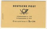 DDR Markenheft MH 4 a 1 ** postfrisch Ulbricht