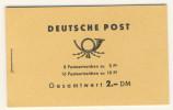 DDR Markenheft MH 4 a 3 II ** postfrisch Ulbricht