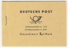 DDR Markenheft MH 4 c 1c ** postfrisch Ulbricht