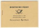 DDR Markenheft MH 4 c 2.2 ** postfrisch Ulbricht