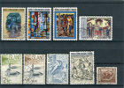 Iceland - Mixed Lot With 9 Stamps - Collections, Lots & Séries