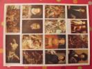 Planche De 14 Images Arnaud N° 120. Chefs-d´oeuvre De La Peinture (le Titien Au Guide) . à Découper Pour Album - Other