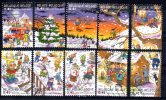 Belgium - 2002 - Christmas - Used - Belgique