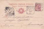 Italy 1905 Postal Card Cent 10 Used - 1900-44 Vittorio Emanuele III