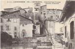 COURPIERE  (cpa 63)    Quartier Las Donnas Ancien Couvent - - Courpiere