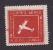 Uruguay, Scott #C5, Mint Never Hinged, Plane, Issued 1924 - Uruguay