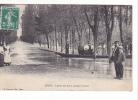 24945 COSNE (58.Nièvre) L'Allée Des Ponts Pendant La Crue -ed Pontaut - Cosne Cours Sur Loire
