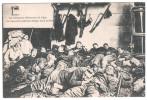 CPA GUERRE 1914 1918 LIEGE HEROIQUES DEFENSEURS REPOS DES ARTILLEURS BELGES DANS LE FORT - Guerra 1914-18