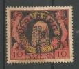 Anniversaire De La Régene 10p Noir Rouge Et Jaune - Bavaria