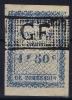 GUYANE Timbre Fiscal Quittances  1 Fr 50 C   Obl Used - Oblitérés