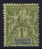 MADAGASCAR Yv Nr 41 MH/*, Avec  Charnière , Mit Falz, + - Madagascar (1889-1960)