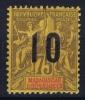 MADAGASCAR Yv Nr 114 A Chiffre Espacé  MH/*, Avec  Charnière , Mit Falz (2,5 Mm +) - Madagascar (1889-1960)