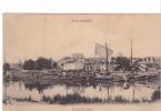 24961 TOUL Illustré Port Du Canal - Pratbernon - Peniche Voile -texte Militaria Service Militaire Bleu Soldat
