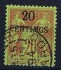 Maroc:  Yv Nr 4 Obl/used - Marokko (1891-1956)