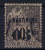 Martinique   Yv Nr 10 Used Obl - Martinique (1886-1947)