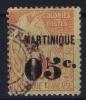 Martinique   Yv Nr 14 Used Obl - Martinique (1886-1947)