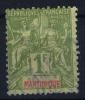 Martinique   Yv Nr 42 Used Obl - Martinique (1886-1947)