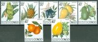 Congo 1974 Fruits MNH** - Lot. 3844 - Congo - Brazzaville