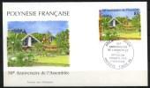Polynésie Française - FDC - 1996 - Yvert N° 519  - 50° Anniversaire De L'Assemblée - FDC