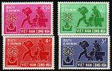 VIETNAM SÜD SOUTH [1960] MiNr 0204-07 ( **/mnh ) [La] - Viêt-Nam