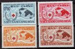 VIETNAM SÜD SOUTH [1963] MiNr 0296-99 ( **/mnh ) [La] Rotes Kreuz - Viêt-Nam