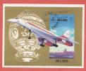 Umm Al  Quiwain  Concorde 1971 Bf Foglietto - Postzegels