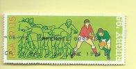 TIMBRES - STAMPS - AFRIQUE DU SUD / SOUTH AFRICA - RUGBY - 1995 - TIMBRE OBLITÉRE - Afrique Du Sud (1961-...)