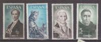 ESPAÑA 1965. PERSONAJES. EDIFIL Nº 1653-56. NUEVO - MNH ** - 1931-Today: 2nd Rep - ... Juan Carlos I