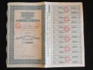 ACTION 100  Francs Compagnie Generale Des Comptoirs Africains Siege à Paris 5/04/32 Emprunt Share - Afrique