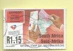 TIMBRES - STAMPS - AFRIQUE DU SUD / SOUTH AFRICA - JOURNÉE NATIONAL DU TIMBRE - TIMBRE OBLITÉRE - Afrique Du Sud (1961-...)
