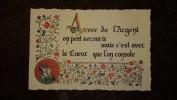 Papier Cartonné Dépliant Calendrier 1991 Cachet Tampon Boucherie Charcuterie Alimentation SANAC La Vallée ONS En BRAY - Altri