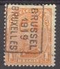 België/Belgique  Preo  N°2430B Brussel Bruxelles 1919. - Roller Precancels 1910-19