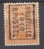 België/Belgique  Preo  N°2431B Bruxelles Brussel 1919. - Preobliterati