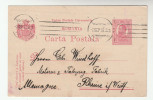 1910 ROMANIA Postal STATIONERY CARD  To Germany  Cover Stamps - Covers & Documents